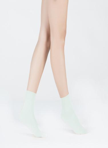 Katia & Bony Cini Kadın Basic Soket Çorap Yeşil